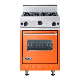 "Pumpkin 24"" Char-Grill Companion Range - VGIC (24"" wide range with char-grill, single oven)"