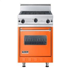 "Pumpkin 24"" Char-Grill Companion Range - VGIC (24"" wide range with char-grill, single oven)"