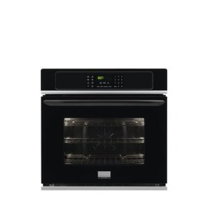 Gallery 30'' Single Electric Wall Oven - BLACK