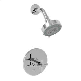 Venetian Bronze Balanced Pressure Shower Trim Set