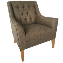 Andover Upholstered Button Tufted Arm Chair