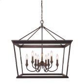 Davenport 2 Tier - 9 Light Chandelier in Etruscan Bronze