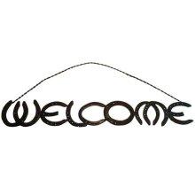 Horseshoe Welcome Sign