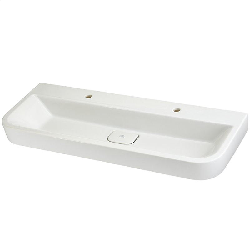 Trough Bathroom Sink Two Faucets » the Best Option Sinks Amusing Trough  Bathroom Sink with Two