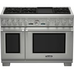 Thermador48-Inch Pro Grand Commercial Depth Dual Fuel Range PRD486JDGU