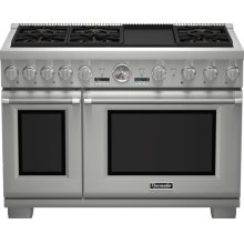 48-Inch Pro Grand Commercial Depth Dual Fuel Range PRD486JDGU