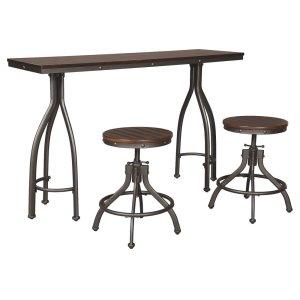 Ashley FurnitureSIGNATURE DESIGN BY ASHLERECT DRM Counter TBL Set(3/CN)