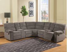 "Conan RAF Recliner Loveseat w/CN, Graphite Grey,64""x37""x39"""