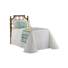 St. Kitts Rattan Headboard Twin Headboard
