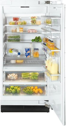K 1903 SF MasterCool refrigerator with high-quality features and maximum storage space for fresh food.