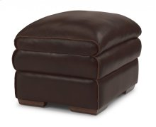 Penthouse Leather Ottoman