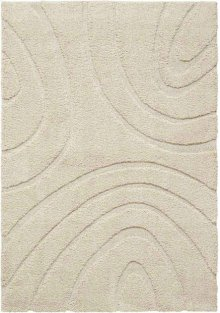 Jaspar Jasp1 Cream Rectangle Rug 4' X 6'