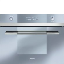 """60CM (Approx. 24"""") Built-in Speed Oven with 1000W Microwave, Supersilver Glass"""
