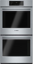 """800 Series, 27"""", Double Wall Oven, SS, EU conv./Thermal, Touch Control Product Image"""