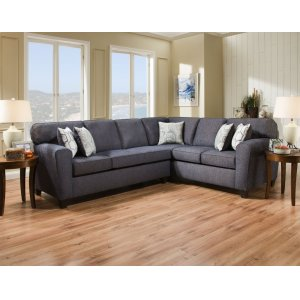 American Furniture Manufacturing3100 - Uptown Denim Sectional