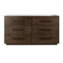 Lawson 6 Drawer Dresser - Dark Chocolate