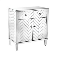 Chatelet Cabinet In Clear Mirror Finish