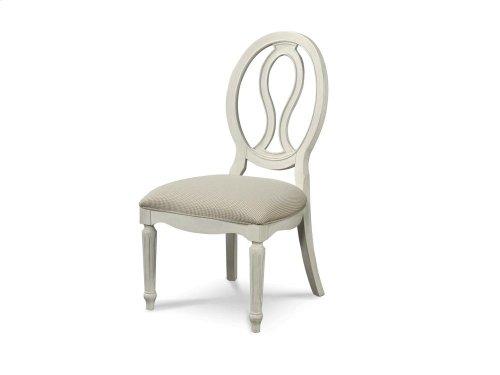 Pierced Back Side Chair - Cotton