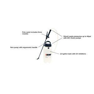 ECHO MS-21H Lightweight 2 gallon Manual Sprayer