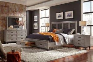 Hyde Park Queen Bed (non storage)