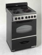 """Model ER2402CSS - 24"""" Electric Range - Stainless Steel Product Image"""