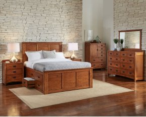 King Captain Bed