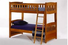 Cinnamon Twin Twin Bunk