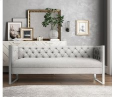 Farah Light Grey Sofa Product Image