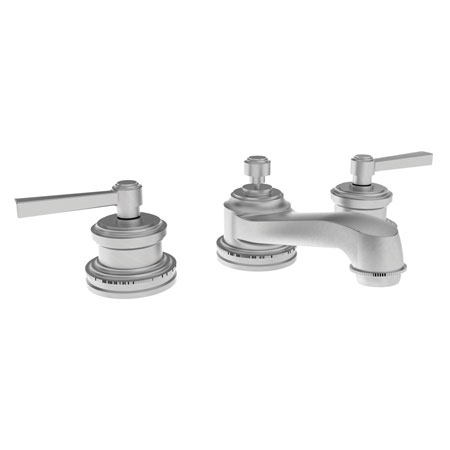 Satin-Nickel Widespread Lavatory Faucet