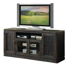 Bellagio 68-Inch TV Console Weathered Worn Black finish