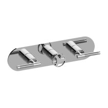 Harley M-Series Valve Horizontal Trim with Three Handles