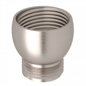 "Satin Nickel Perrin & Rowe 3/4""F X 1/2""M Adaptor"
