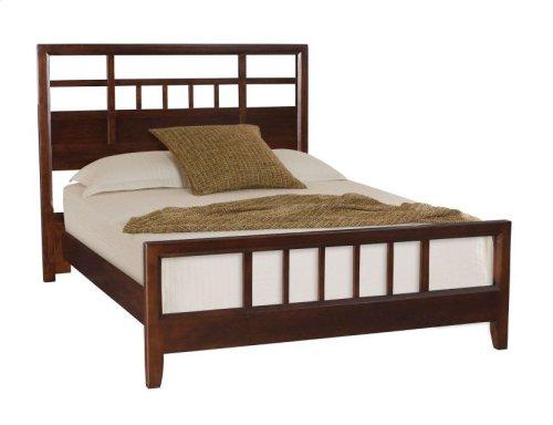 Slat Queen Bed Complete