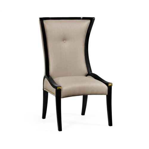 Painted Black Cosmo Dining Side Chair