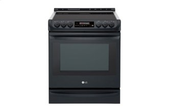 6.3 CU.FT. Black Stainless Steel Series Electric Slide In Range With Probake Convection