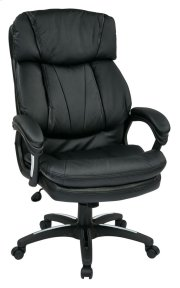 Oversized Faux Leather Executive Chair Product Image