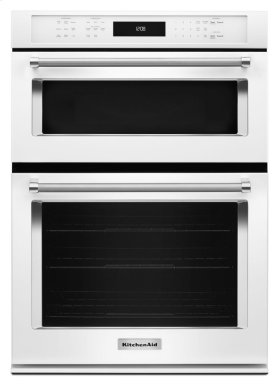 "30"" Combination Wall Oven with Even-Heat True Convection (Lower Oven) - White"