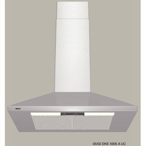 "Bosch30"" Wall Mount Chimney Hood 300 Series - Stainless Steel DKE9305AUC"