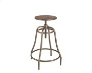 Collette Adjustable Barstool - Bronze Product Image