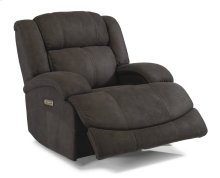 Declan Fabric Power Gliding Recliner with Power Headrest