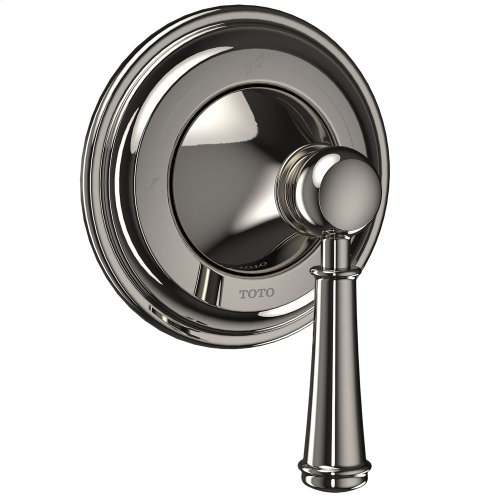 Vivian Two-Way Diverter Trim with Off - Lever Handle - Polished Nickel