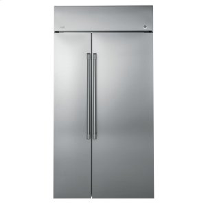 "GE CafeGE Cafe™ Series 48"" Built-In Side-by-Side Refrigerator"