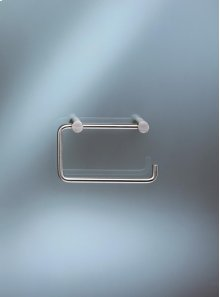 Toilet roll holder without back plate - Grey