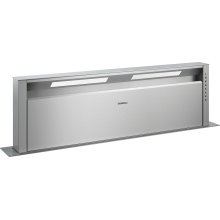 "400 series Retractable downdraft ventilation Stainless steel Width 46 5/8"" (118 cm)"