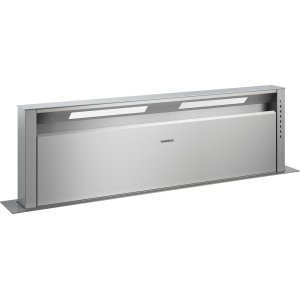 "Gaggenau400 series Retractable downdraft ventilation Stainless steel Width 46 5/8"" (118 cm)"