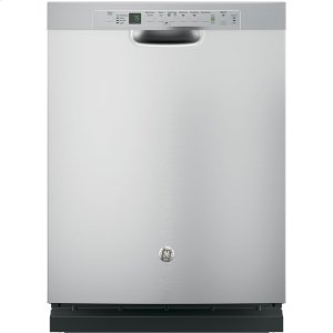 GE®Stainless Steel Interior Dishwasher with Front Controls