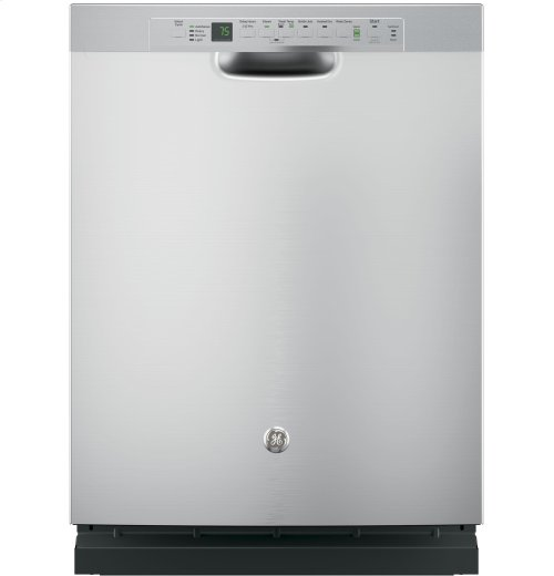 GE® Stainless Steel Interior Dishwasher with Front Controls (Display Unit)