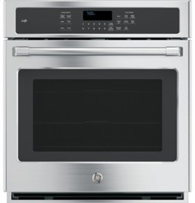 """GE Cafe 27"""" Electric Convection Self-Cleaning Single Wall Oven Product Image"""
