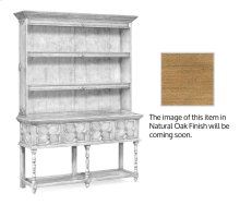 Tudor Style Natural Oak Welsh Dresser