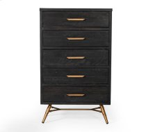 Modrest Tabitha Modern Dark Brown Recycled Pine Chest